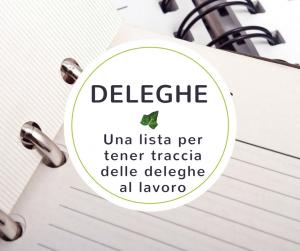 deleghe