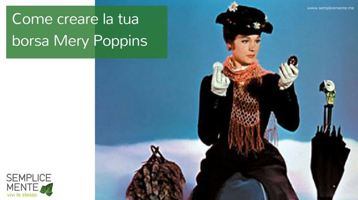 Crea la tua borsa di Mery Poppins
